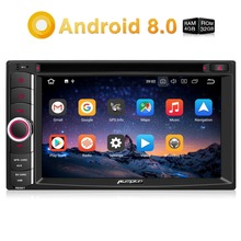 Pumpkin Android 8.0 Car Radio DVD Player 2 Din 6.2'' Universal Car Stereo GPS Navigation 4GB RAM Wifi 4G DAB+ FM/AM Rds Radio