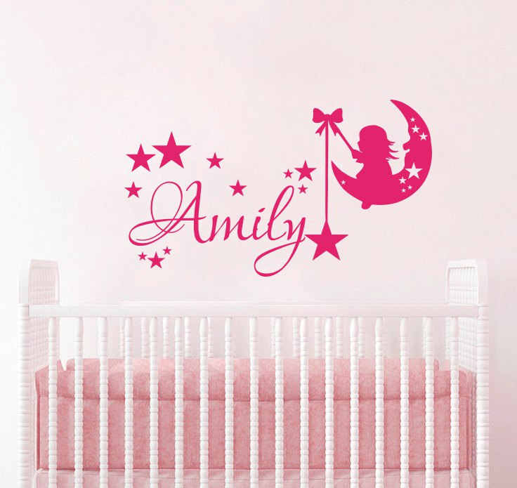 Personalized Name Wall Decals Vinyl