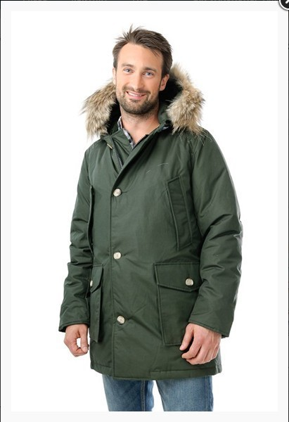 1101 w woolrich down parka coat arctic anorak army green. Black Bedroom Furniture Sets. Home Design Ideas