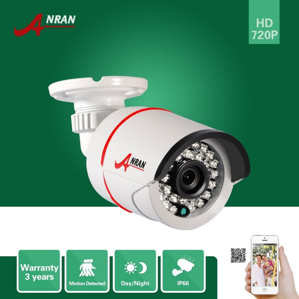 ФОТО ANRAN Onvif H.264 1.0 MegaPixel 1280x720 HD 25fps Network 720P IP Camera Waterproof CCTV Camera