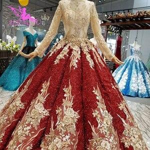 Image 5 - AIJINGYU turcji suknia ślubna na sprzedaż anioł ogród unikalne nowy Tulle sukienki tanie wesela suknie