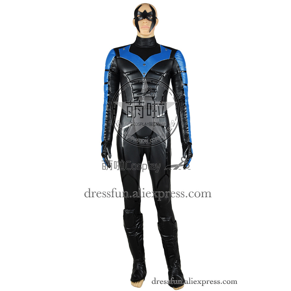 Popular Adult Nightwing Costume-Buy Cheap Adult Nightwing Costume ...