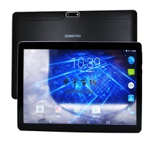 10.1 inch Tablet PC Android 7.0 3G Phone Call Octa Core 4GB ROM 32GB Dual SIM Bluetooth WiFi GPS IPS Tablets PC10 10.9