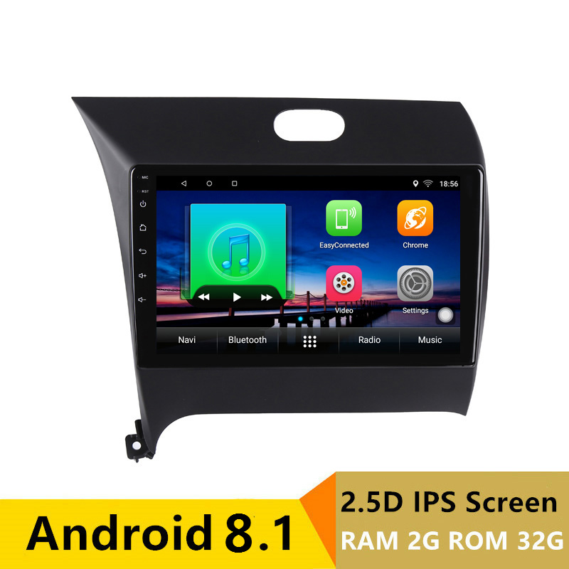 "9"" 2G RAM 32G ROM Android Car DVD Player GPS for Kia CERATO K3 FORTE 2013 2014 audio car radio stereo navigation bluetooth wifi"