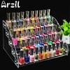 5 Tiers Jewelry Display Stand Holder Makeup Cosmetic Clear Acrylic Organizer Lipstick Nail Polish Rack 31X22