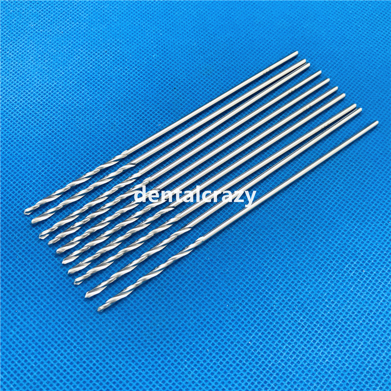 2019 Hot Sale High Quality 115mm Stainless Steel Drill Bits Veterinary Orthopedics Instruments 10pcs/set Tools