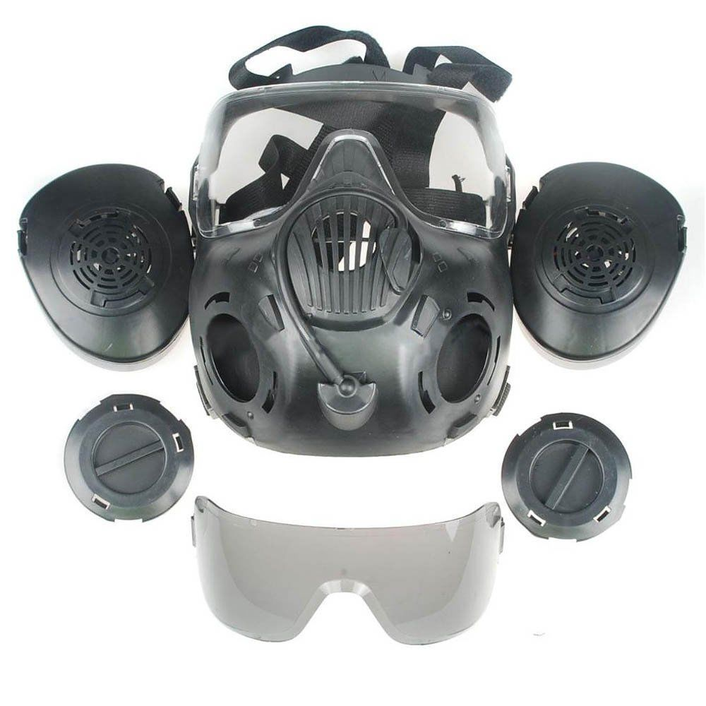 how to make a gas mask filter