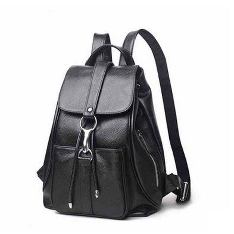 HIGHREAL Women Genuine Leather Backpacks Brand Ladies Fashion Backpacks For Teenagers Girls School Bags Real Leather Travel  J52 twenty four women backpacks genuine leather ladies travel backpack for teenagers girls bucket bag vintage real leather mochilas