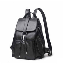 Highreal женские натуральная кожа рюкзаки бренда Дамская мода рюкзаки для подростков девочек школьные сумки из натуральной кожи путешествия J52
