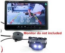 Автомобиля Видео Датчик Парковки Камеры Камера Заднего вида с 2 SensorsIndicator Би Би Сигнализации Автомобилей Обратный Радиолокатор Система Помощи При Парковке