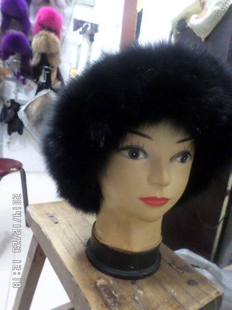 2015 новый мех Лисы карнизы Норки меховая шапка теплая зимой freeshipping