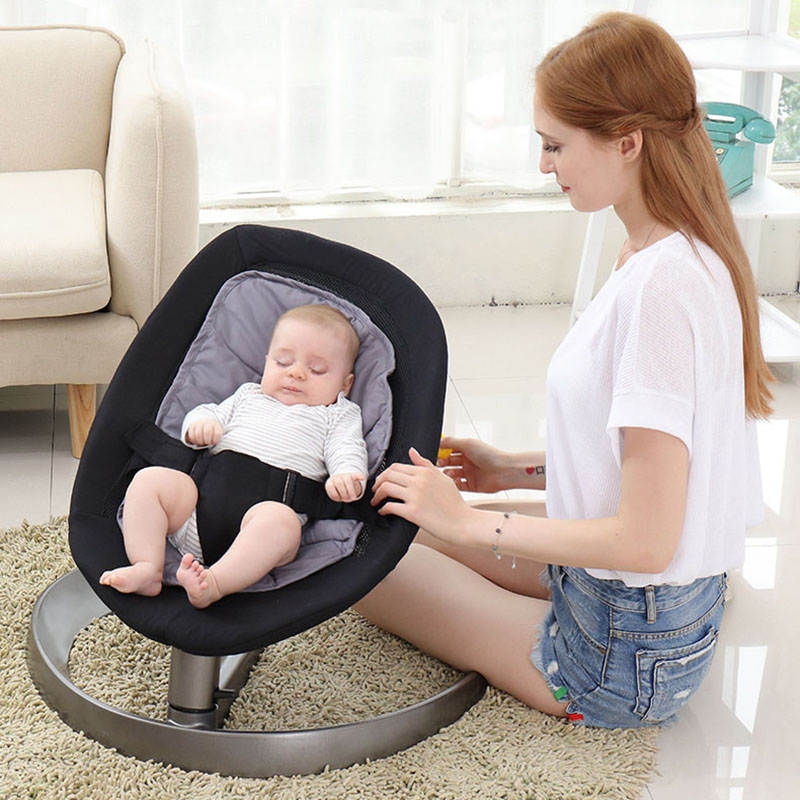 Cradle Baby Rocking Chair Lounge Release Mother S Hands Hanging Newborn In Bouncers Jumpers Swings From Kids On