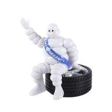 Carino Bianco Della Decorazione Dell'automobile Della Bambola Bambole di Moda Interni Cruscotto Decorazione Ornamento Auto-Per Lo Styling accessori auto Regalo Di Compleanno