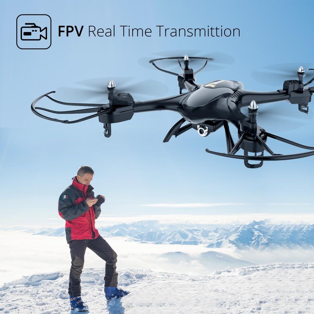 Pierre sainte HS200 Drone RC hélicoptère 720P caméra HD Wifi FPV vidéo 4 vitesses réglage Drone professionnel APP télécommande-in Hélicoptères télécommandés from Jeux et loisirs    2