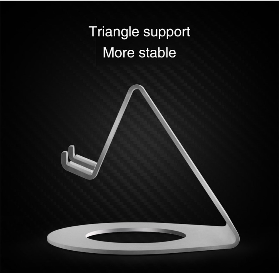 Metal Mobile Phone Holders Stands Universal Tablet Stand Desktop Holder For iPhone X 7 8 Plus For Samsung S9 Plus For Huawei (8)