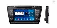 S160 Quad Core Android 4.4.4 car audio FOR SKODA Octavia A7 2013-2014 car dvd player head device car multimedia car stereo
