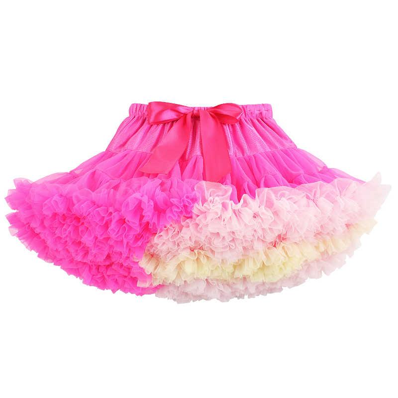 506928d52 2019 New Baby Girls Kids Tutu Skirt Kids Dance Pettiskirt Party Ballet  Fluffy Layer Princess Birthday Party Skirt Kids Ball Gown