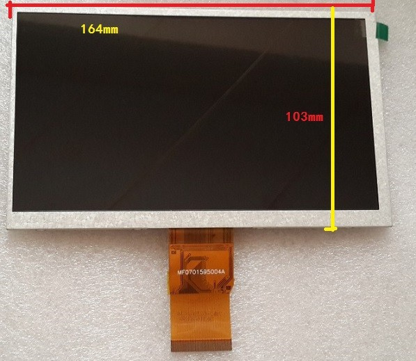 7 -inch LCD screen cable S18 Ericsson X8 display cable channel S8 Elite Edition Deluxe Edition 50P neiping new original 7 inch tablet lcd screen 7300100070 e203460 for soulycin s8 elite edition ployer p702 aigo m788 tablets lcd