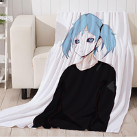 Sally Face Blanket European And American Printing Pattern Super Soft Comfortable Blanket Sofa Travel Cover
