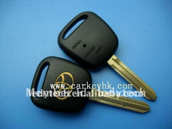 Hot selling toyota remote key casing blank , cary key cover