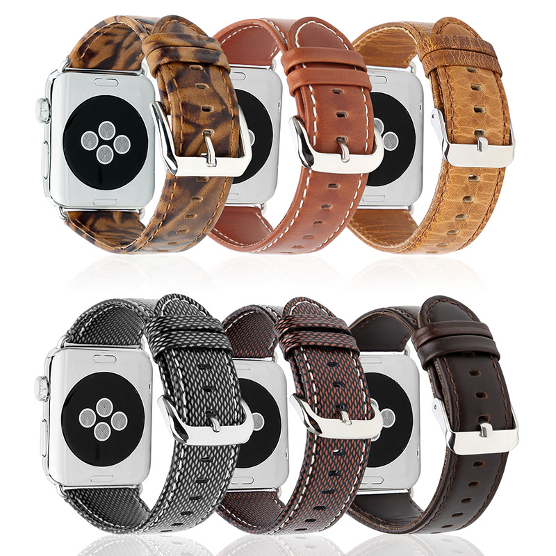 FOHUAS 2017 new Genuine Leather Apple Watch Band 42mm 38mm Wristband with Retro Crazy Horse Texture for iWatch All Version Brown k73ta for asus k73t x73t k73ta k73tk r73t latop motherboard rev 1a qbl70 la 7553p hd7670m 1gb mainboard 100% tested ok