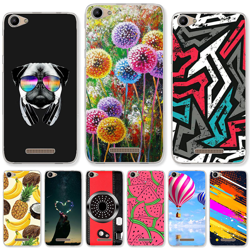 TAOYUNXI Silicone Cases For BQ BQ-5059 Strike Power Case Dirt-resistant For BQ Mobile BQS 5059 5.0 inch Soft DIY Painted Covers