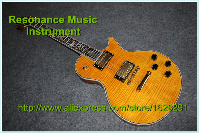 100% Real Pictures Tiger Flame Finish LP Superme Electric Guitars With Beautiful Flower Inlay Guitar In Stock толстовка mikasa one original superme