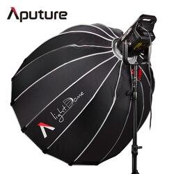 Aputure LS C120t +Light Dome Kit Studio Continuous lighting LED Panel light Photo TLCI/CRI 97 with Wireless Remote V-mount Plate