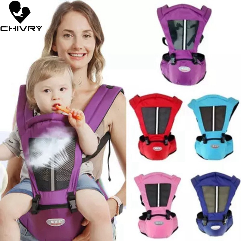 Chivry Baby Carrier Kangaroo Toddler Sling Wrap Portable Infant Hipseat Baby Care Waist Stool Adjustable Hip Seat 0 36 Months