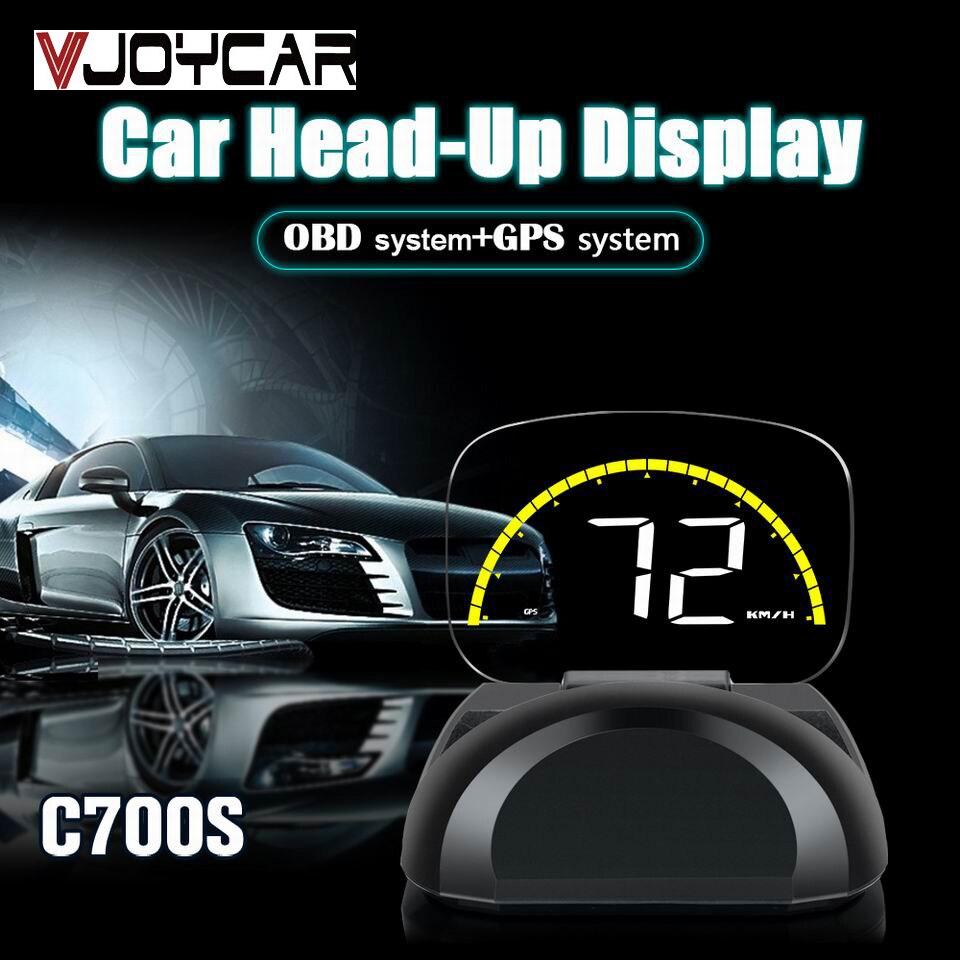 2019 New HUD Mirror OBD2 Car Head Up Display GPS Digital Speedometer Projector OBD Diagnostic Tool