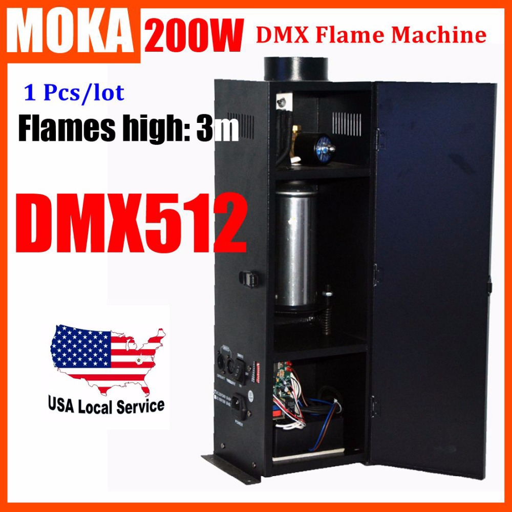 Stage DMX Flame Projector Spray Flame Fireworks Stage Equipment for party projector