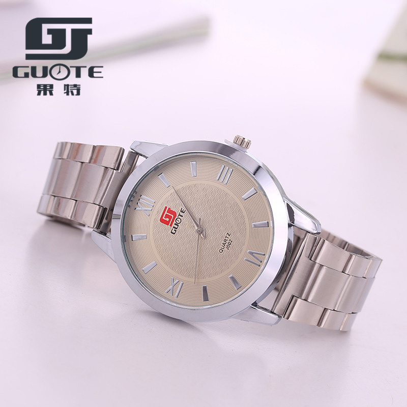 2016 New Famous Brand Silver Quartz Watch Men Stainless Steel Watches Luxury Casual Wristwatches Relogio Masculino Clock Hot mcykcy new famous brand casual quartz watch men gold stainless steel fashion dress watches relogio masculino unisex clock hot
