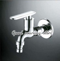 brass washing machine faucet, single cold water tap