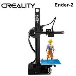 3 d drucker CREALITY 3D Ender-2 Günstige 3D Drucker Metall rahmen 3d drucker maschine Reprap prusa i3 3d drucker kit DIY filamente