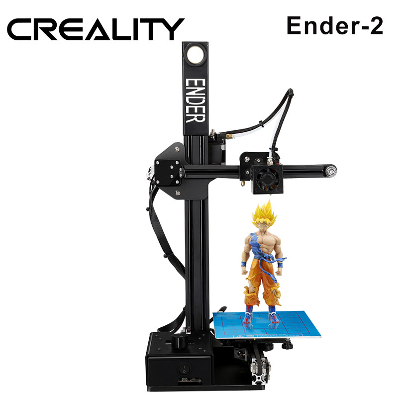 3 d imprimante CREALITY 3D Ender-2 pas cher 3D imprimantes cadre métallique 3d imprimante machine Reprap prusa i3 3d imprimante kit bricolage filaments