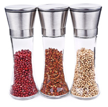 Stainless steel pepper grinder Pepper coffee Manual bottle