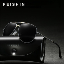 FEISHINI Original Brand Design Driver Women Sunglass UV Protection Elegant Aviation Sunglasses Men Polarized Classic Cheap цена