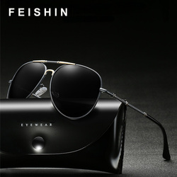 FEISHINI Original Brand Design Women's Sunglass UV Protection Elegant HD Driving Aviation Sunglasses Men Polarized Classic Cheap