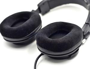 Image 5 - Defean Velvet Velour OVAL colour 3 Ear pads cushion replacement for Audio Technica ATH M40 ATH M50 M50X M30 M40 M35 SX1 M50 M50S