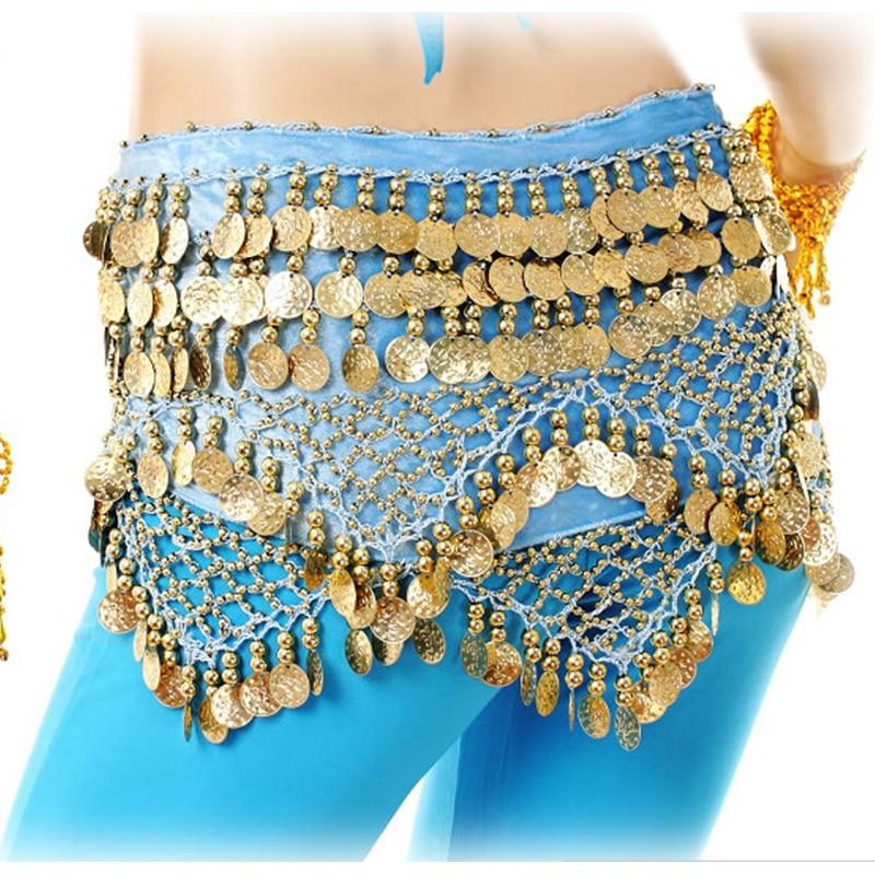 Belly Dancing хип шарфы әйелдер фестивалі - Сахналық және би киімдері - фото 3