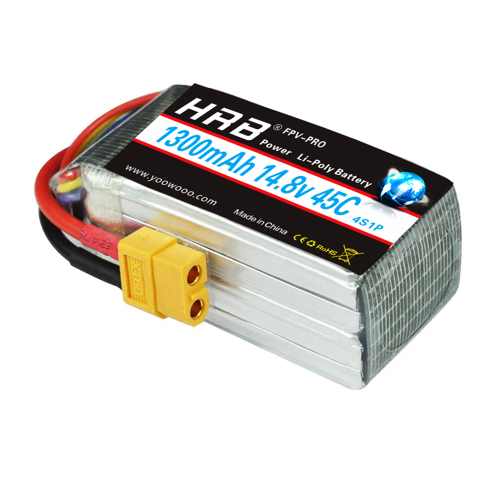 Image 3 - HRB Lipo Battery 2S 3S 4S 5S 6S 7.4V 11.1V 14.8V 18.5V 22.2V 1300mAh 1500mah 45C 65C 90C For Racing Drone FPV Quadcopter-in Parts & Accessories from Toys & Hobbies