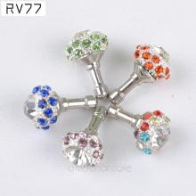 Crystal Rhinestone Bird Nest Crown Anti Dust Plug 3.5mm Jack Earphone Dust Plug for iPhone Smart Phone Accessories