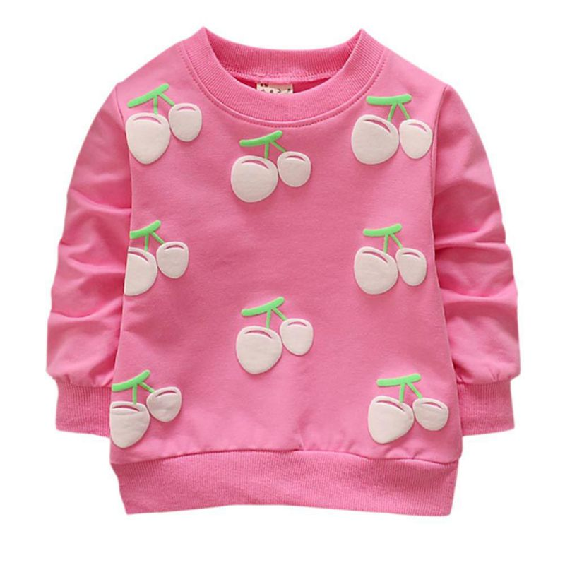 Tops Shirts Long-Sleeve Toddler Baby Winter Clothing Pullover Girls Autumn Cotton Spring