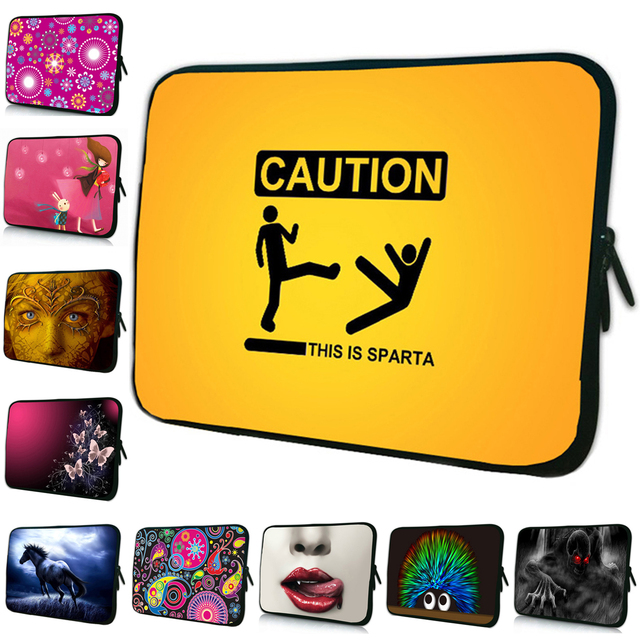 Newest Yellow Soft Computer Sleeve Bag 17.4 17.6 16.8 Inch Zipper Laptop Accessories Fashion 17 Inch Neoprene Notebook Case Bag