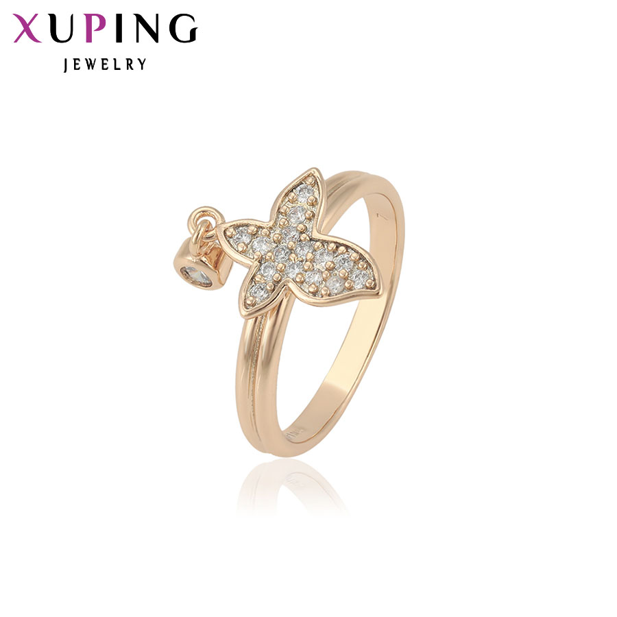 11.11 Xuping Jewelry Luxury Ring Special Design High Quality for Women Gold Color Plated Rings Thanksgiving Gifts 12180