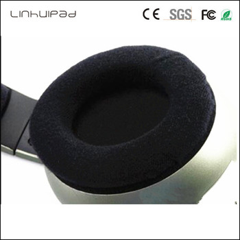Linhuipad 9 CM velvet headphone ear cushion covers ear pads for Sennheiser HD205 HD215 HD225 ATH-T2 Pro700 Headphone 1 Pairs image