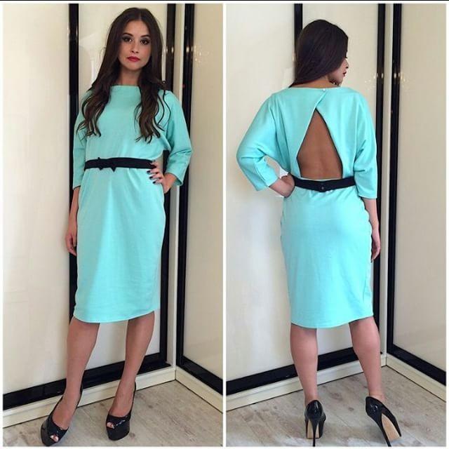 Women-Backless-Dress-2015-Long-Sleeve-Sheath-Dress-O-neck-Knee-length-Sexy-Midi-Dresses-Autumn