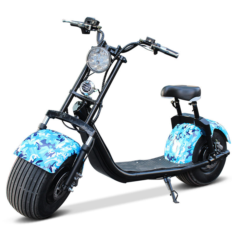 Citycoco Electric Scooter Two Wheel Smart Speedway APP City Bicycle Adult E-Bike 2017 Popular 1500W 1000W Fat Tire Newest 2017 36v 10a speedway mini iv scooter with dual suspension