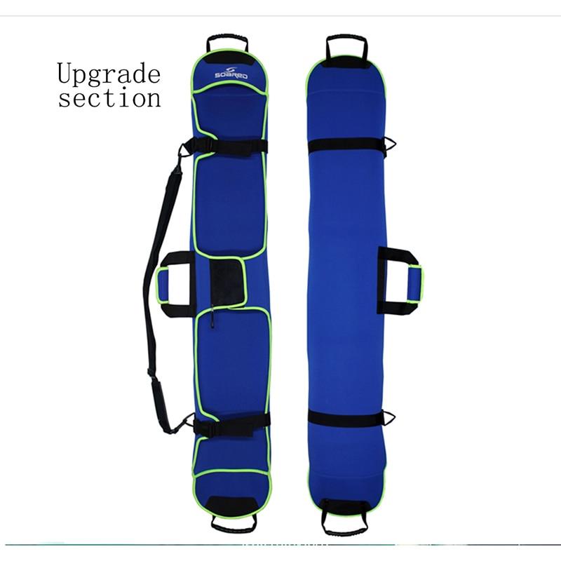 145cm Ski Sleeve Bag Snow Board Snowboard Carry Case Travel Luggage Blue