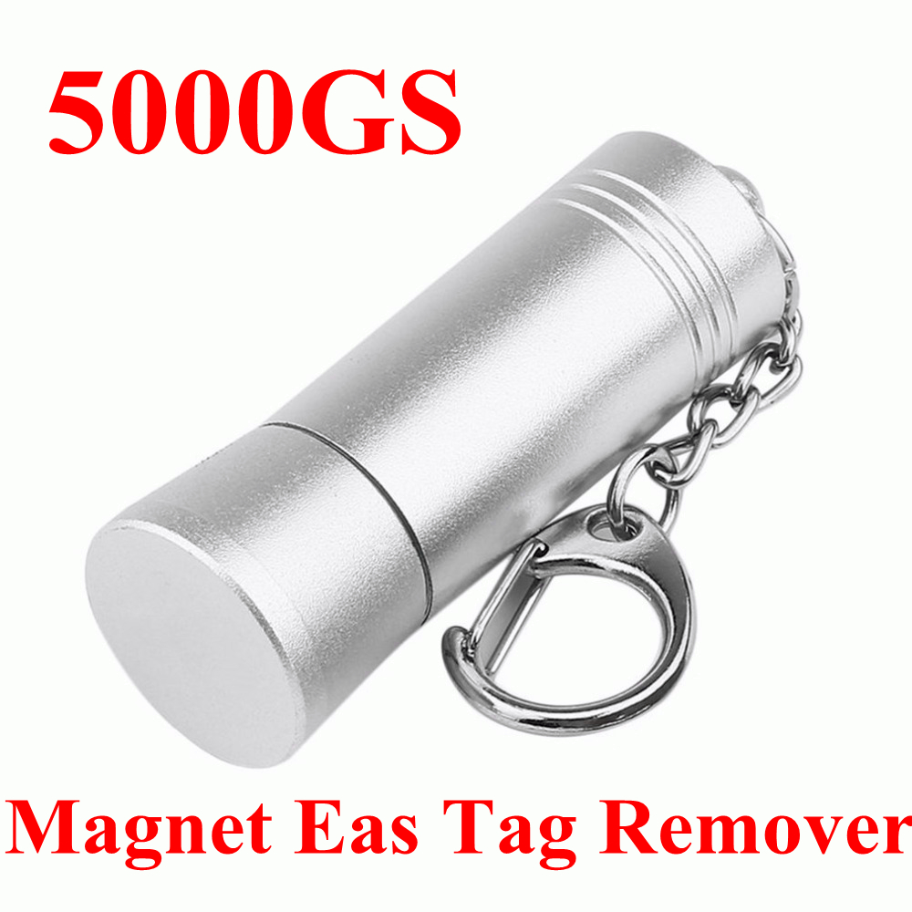 все цены на 5000GS Mini Magnetic EAS Tag Remover Portable Manetic Bullet Security Tag Detacher Key Lockpick Anti-theft EAS system protection онлайн